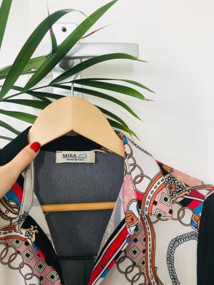 Mira & Co - Statement Print Kimono. Made In Italy.