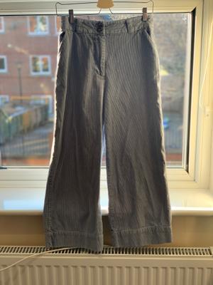 Blue Corduroy Trousers