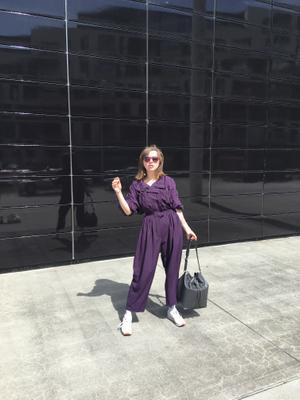 Purple Overall
