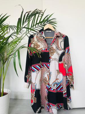Mira & Co - Statement Print Kimono. Made In Italy.