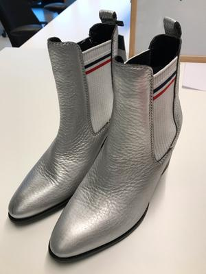 Silver Boots size 39