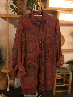 Patterned Hippy Shirt