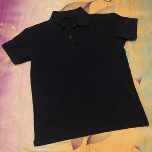 Donker blauw/zwart shirt (unisex)