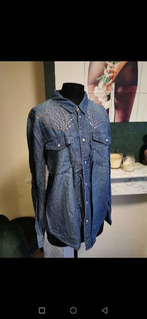 Denim blouse by H&M