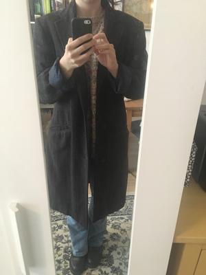 Vintage oversized jas