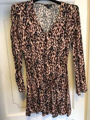 Leopard dress from miss selfridge