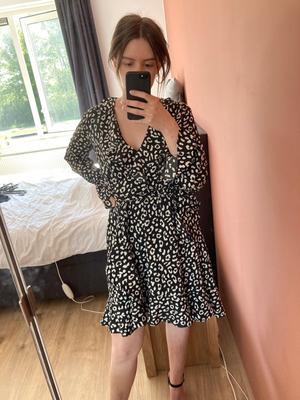 Leopard print jurk | Colourful Rebel | maat XS