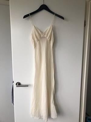 Sheer silk under dress