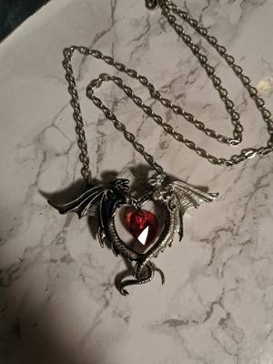 Dragon necklace by Alchemy Gothic