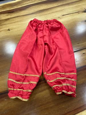 Red mahali pants