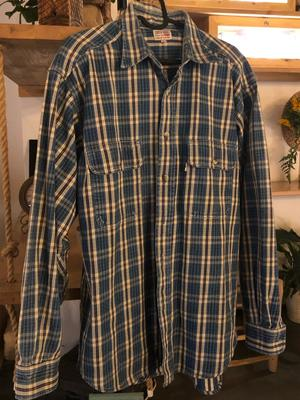Checkered Levi's Trucker Shirt