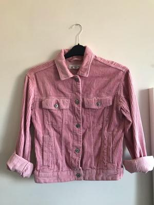 Pink corduroy jacket