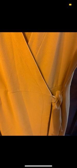 Monsterd gele Dorothy Perkins jurk
