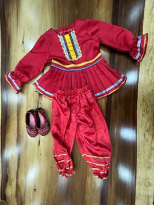 3 Piece Traditional Costume