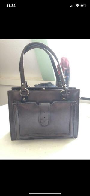 Beautiful small brown vintage handbag