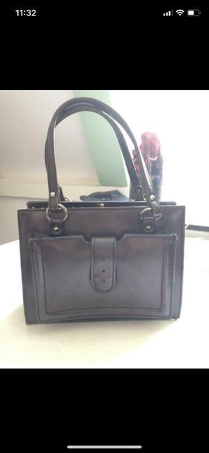 Beautiful small brown vintage handbag