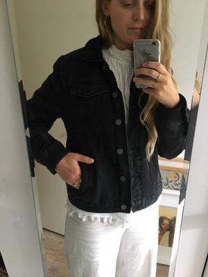 Denim black jacket