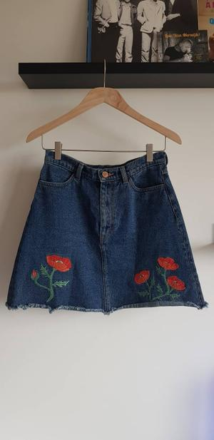Poppies skirt - rokje klaprozen