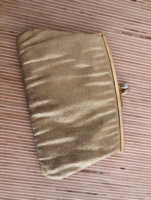 Vintage Gold Evening Clutch