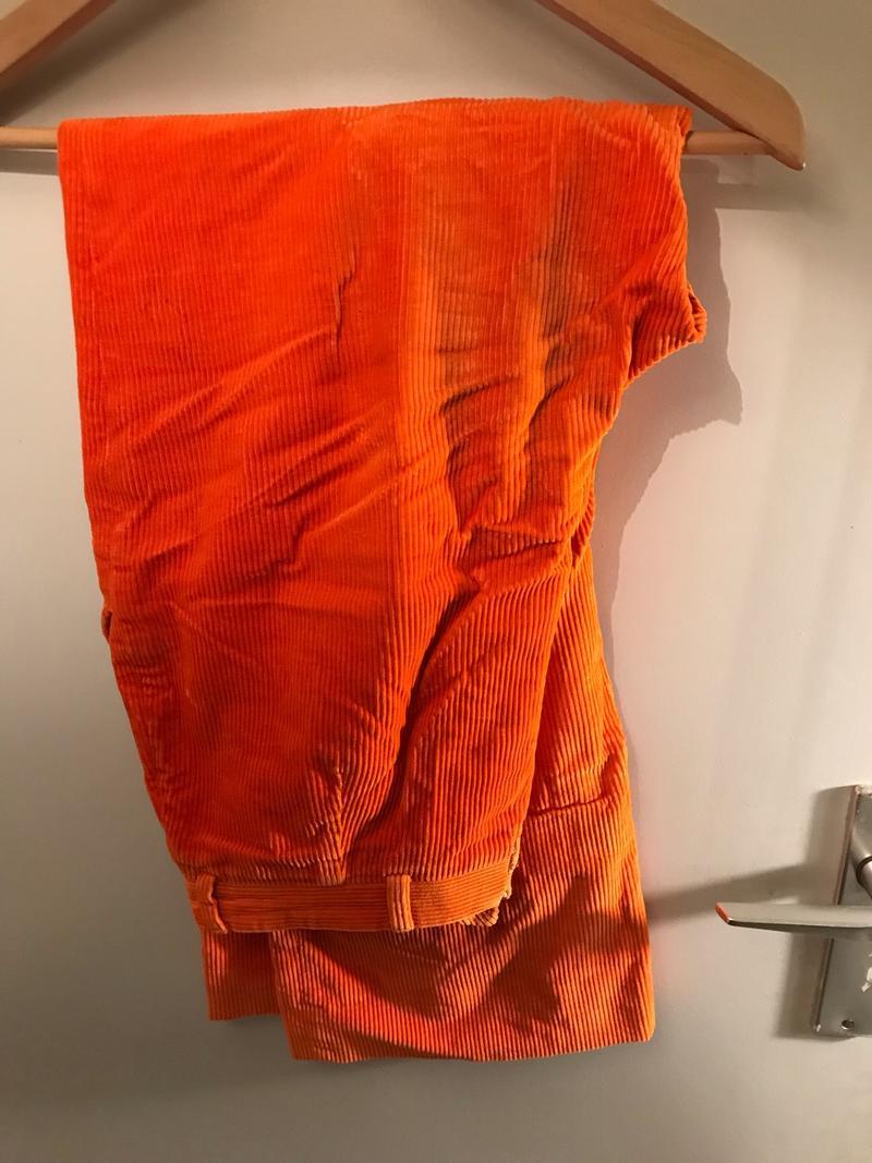 Bright Orange Cords