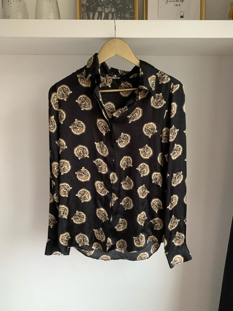 Tiger Silky Blouse