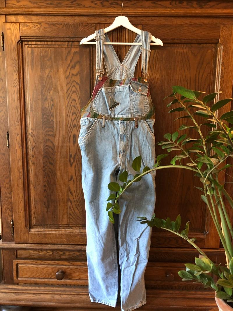 Vintage Oversized Overalls