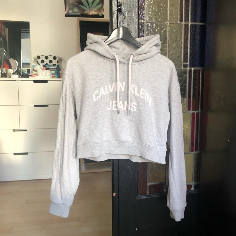 Cropped Hoodie by Calvin Klein Jeans