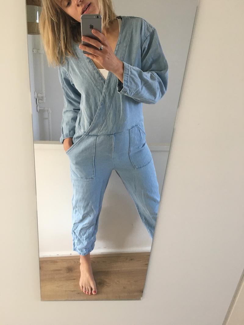 Denim Overall Boiler Suit