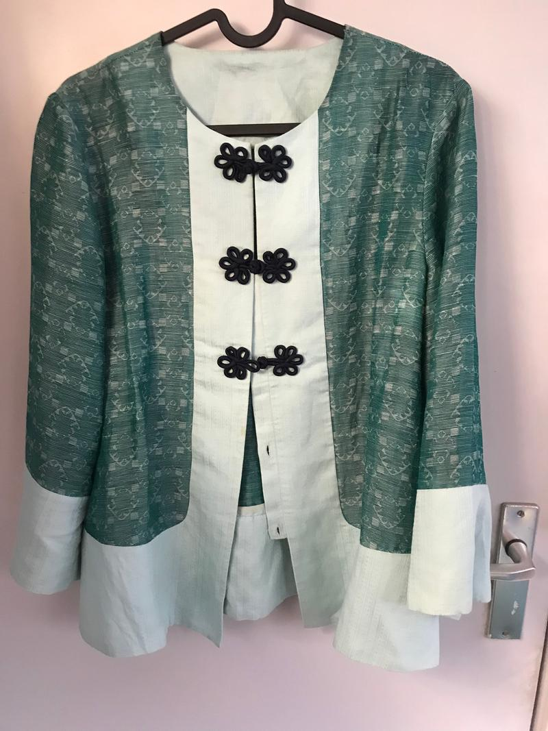 Silk Oriental Blouse