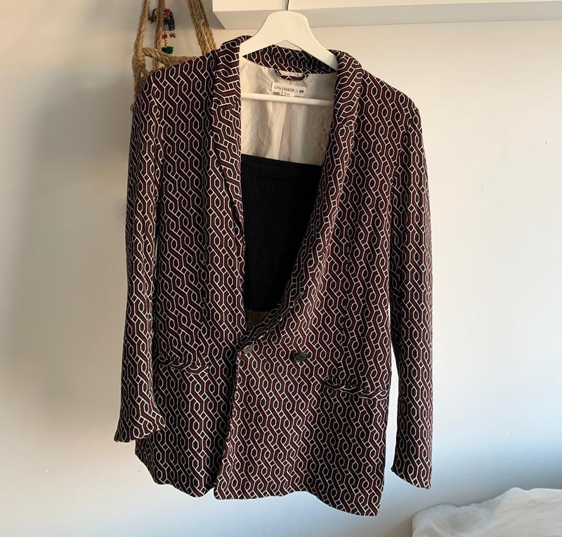 Blazer With A Cool Pattern