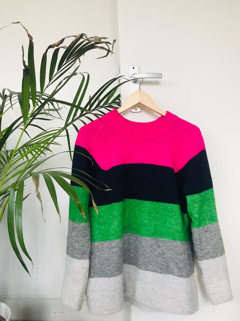 Samsøe Ø Samsøe - Bold Block Colored Sweater