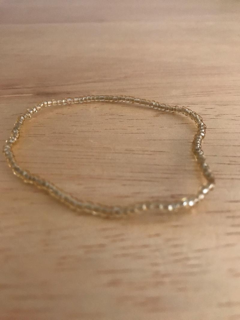 Clear Yellow Bracelet