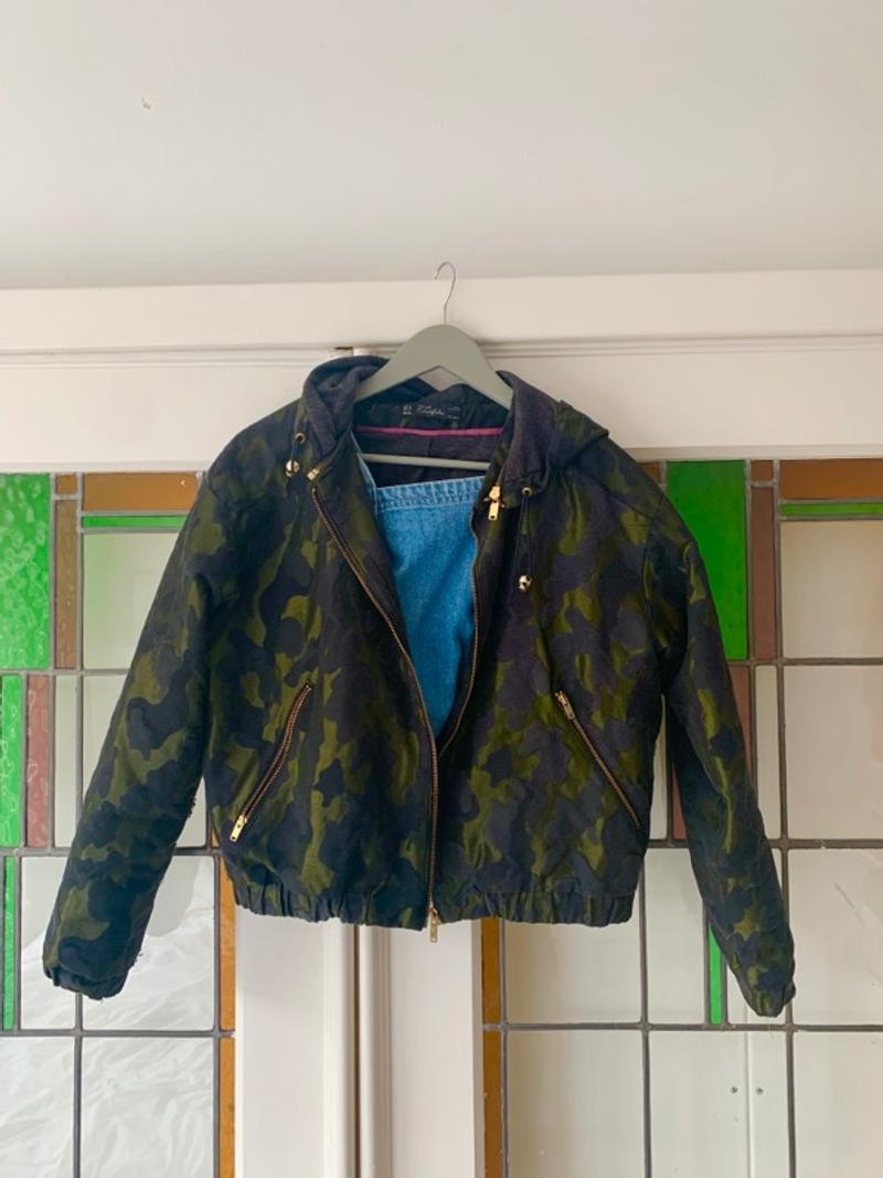 Biker Jacket with funky print