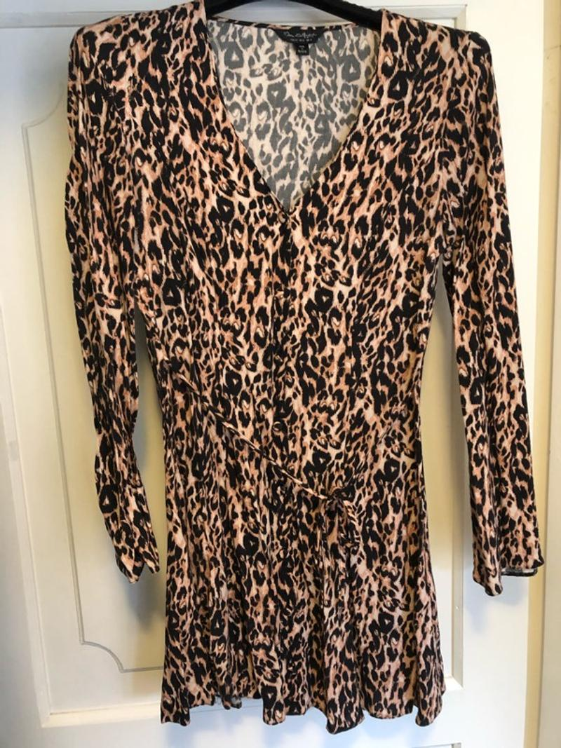 Leopard dress from miss selfridge