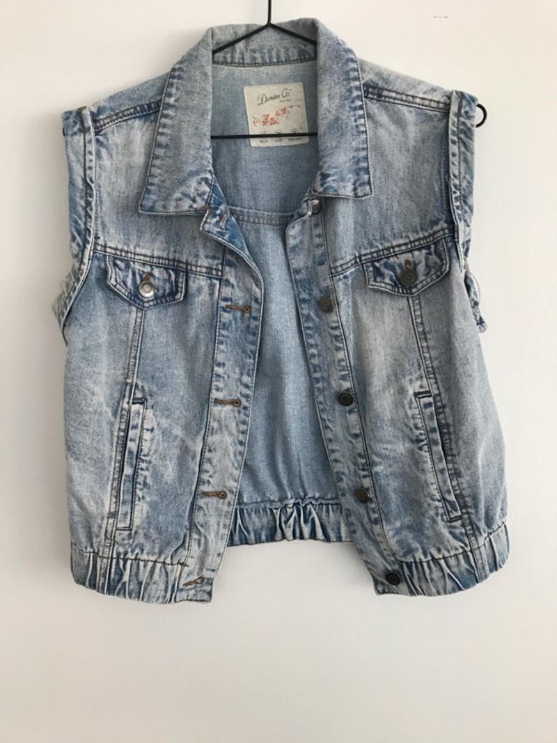 Denim summer jacket