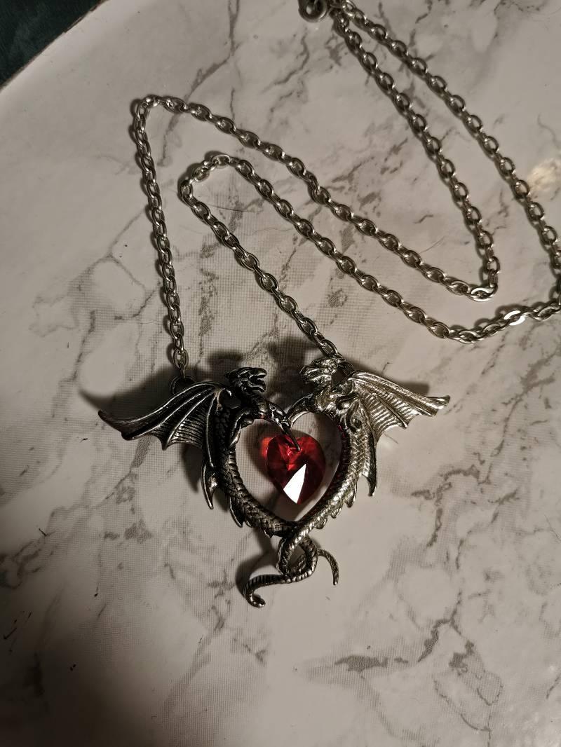 Dragon necklace by Alchemy Gothic