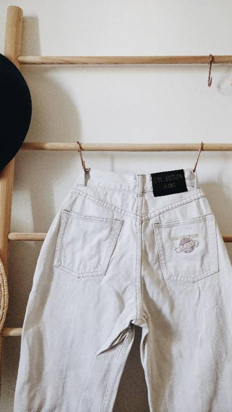 Vintage white jeans!