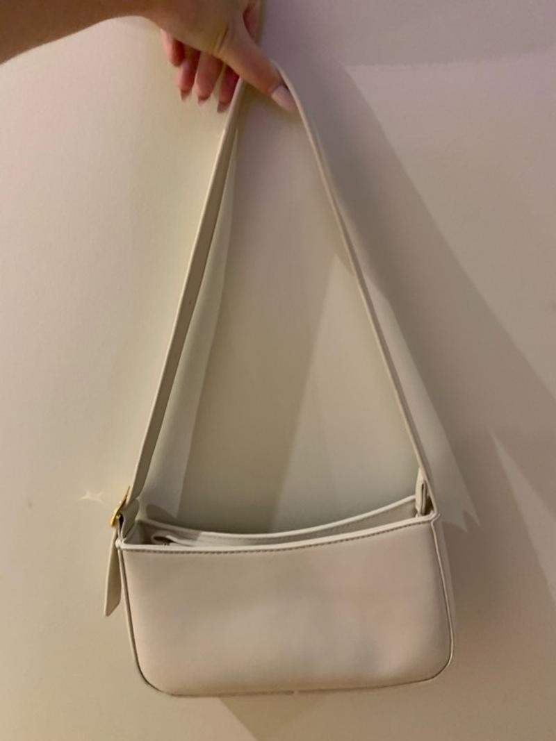cream shoulder bag yummy
