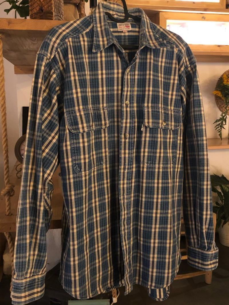 Checkered Levi's Trucker Shirt