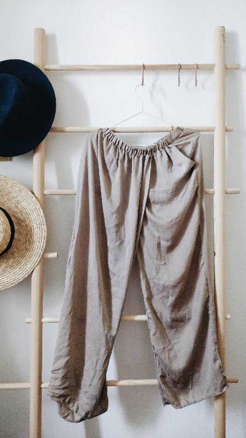 Flowy silky pants