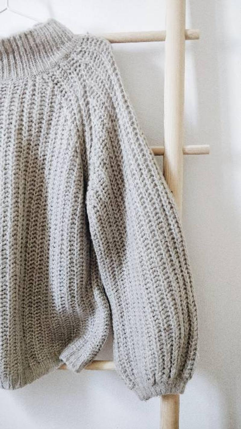 Cozy oversized jumper